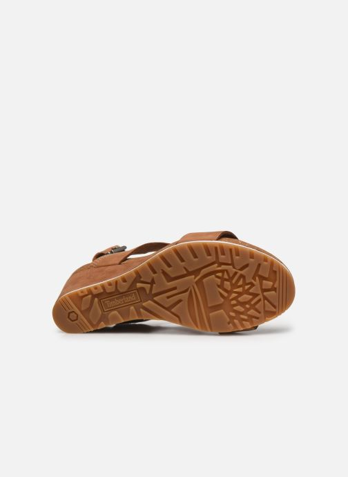 Sandales et nu-pieds Timberland Rest ContempCasual Marron vue haut
