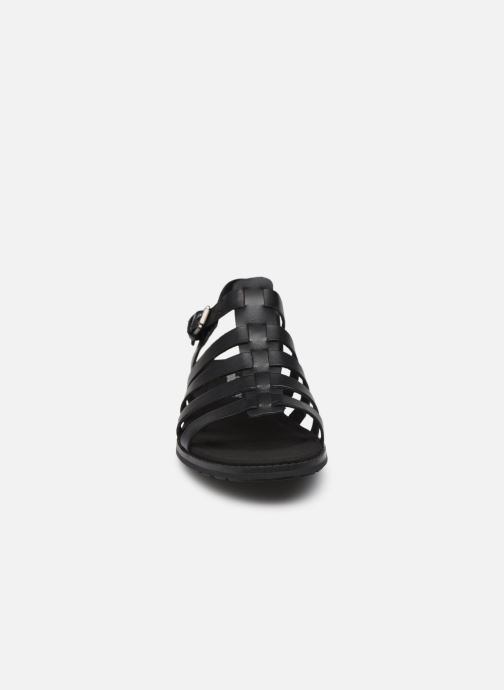 Sandalen Timberland Chicago Riverside 2.0 schwarz schuhe getragen
