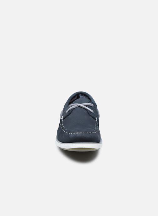 Veterschoenen Timberland Atlantis Break Boat Shoe BLACK IRIS Blauw model