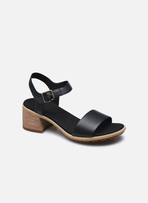 Sandalen Timberland Laguna Shore Mid Heel Classic JET BLACK Zwart detail
