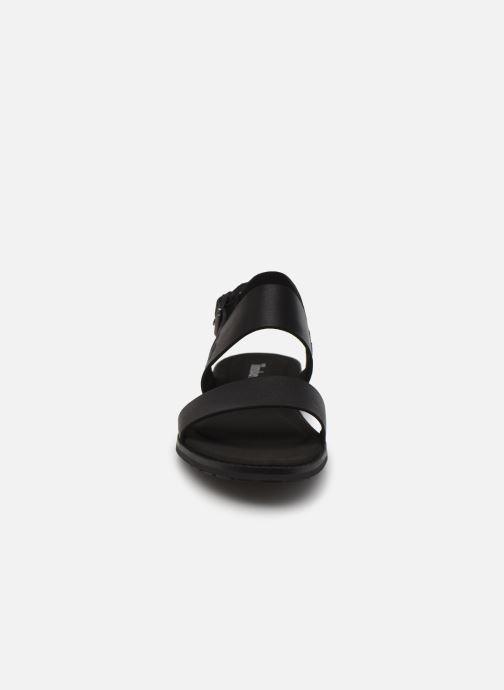Sandales et nu-pieds Timberland Chicago Riverside 2 Band Noir vue portées chaussures