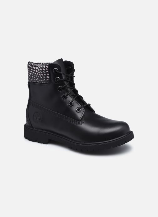 Stiefeletten & Boots Timberland 6in Heritage Boot Cupsole schwarz detaillierte ansicht/modell