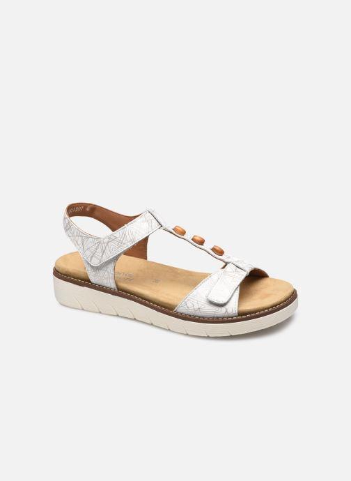 Sandales et nu-pieds Remonte Pamela Blanc vue détail/paire
