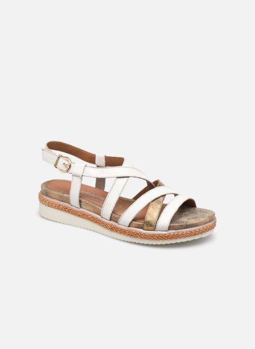 Sandales et nu-pieds Remonte Vickie Blanc vue détail/paire