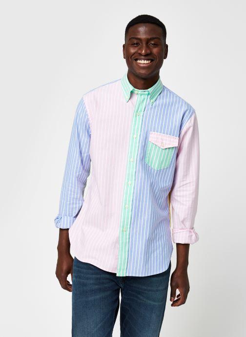 Vêtements Polo Ralph Lauren Chemise ML Fun Shirt Custom Pony Multicolore vue détail/paire