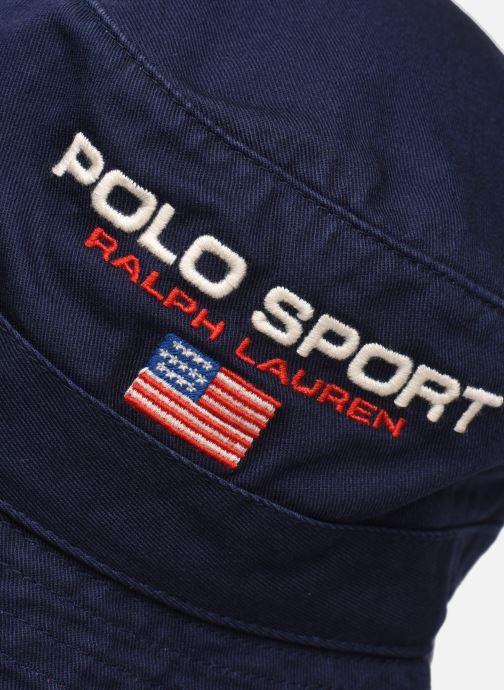 Cappello Polo Ralph Lauren Chapeau Bob Sport Azzurro modello indossato