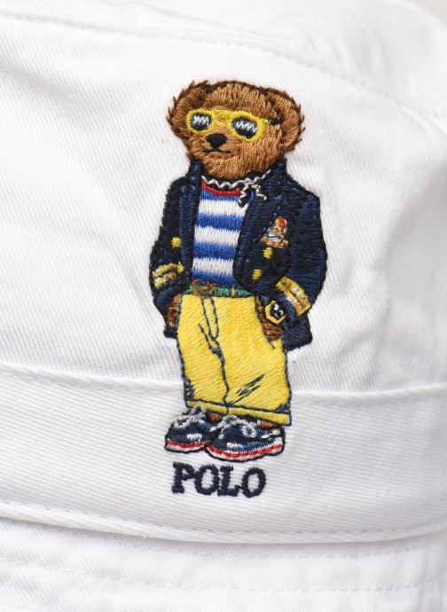 Cappello Polo Ralph Lauren Chapeau Bob Bear Bianco modello indossato