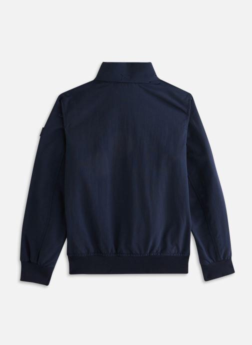 Vêtements Tommy Hilfiger ESSENTIAL JACKET Bleu vue bas / vue portée sac
