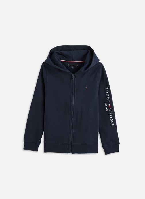 Vêtements Tommy Hilfiger Essential Hooded Zip Bleu vue détail/paire