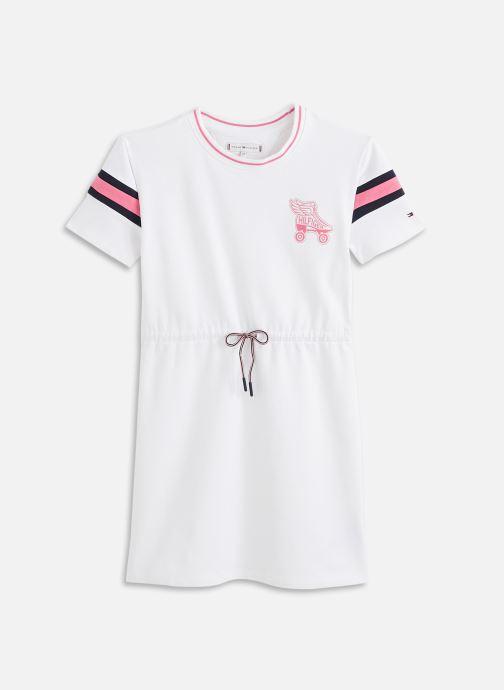 Vêtements Tommy Hilfiger Skate Team Dress Blanc vue détail/paire