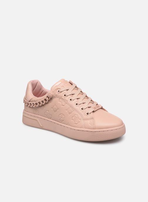 Sneakers Guess RIYAN Roze detail