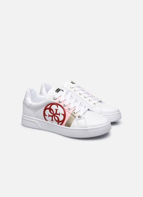 Baskets Guess REATA Blanc vue 3/4