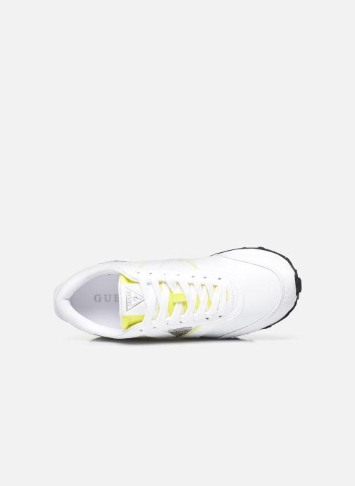 Sneaker Guess SAMSIN weiß ansicht von links