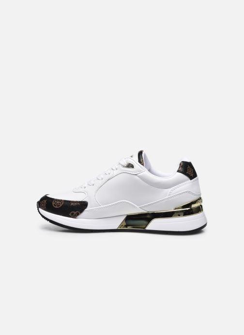 Sneaker Guess MOXEA weiß ansicht von vorne