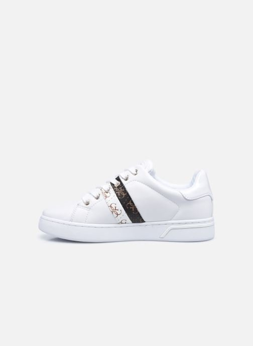 Sneakers Guess REEL Bianco immagine frontale