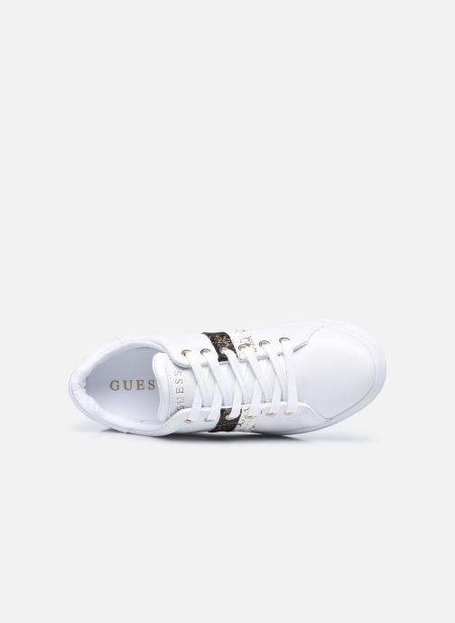 Sneakers Guess REEL Bianco immagine sinistra