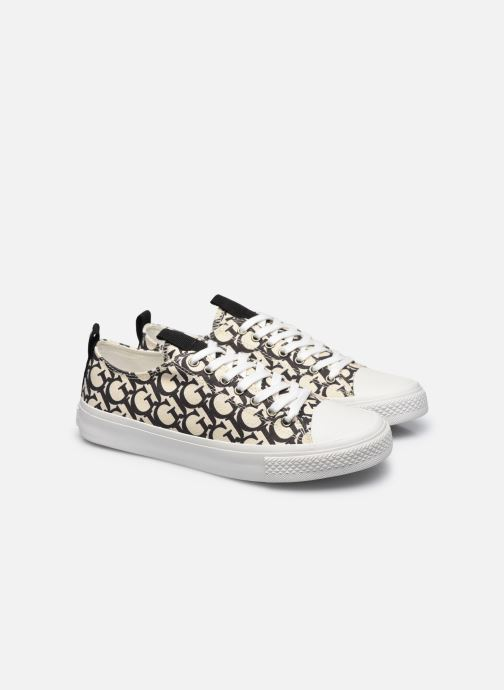 Sneakers Guess EDERLA LOW CUT Nero immagine 3/4