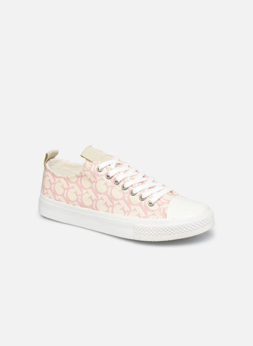 Sneakers Guess EDERLA LOW CUT Roze detail