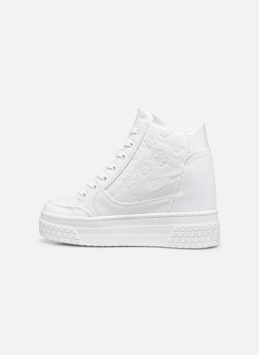 Sneakers Guess RIGGZ Bianco immagine frontale