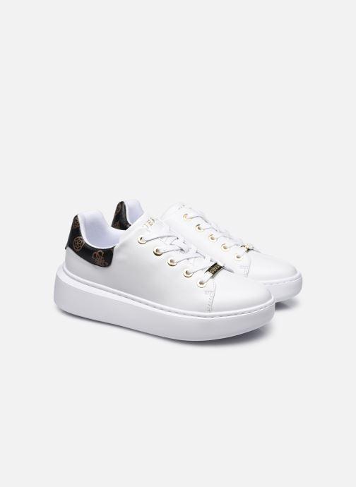 Sneaker Guess BRADLY2 weiß 3 von 4 ansichten