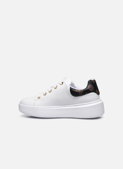 Sneaker Guess BRADLY2 weiß ansicht von vorne