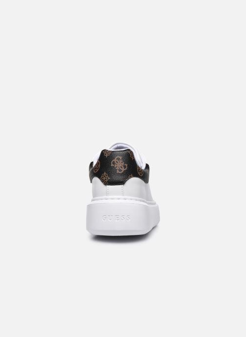 Sneaker Guess BRADLY2 weiß ansicht von rechts