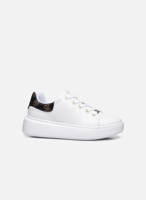 Sneaker Guess BRADLY2 weiß ansicht von hinten