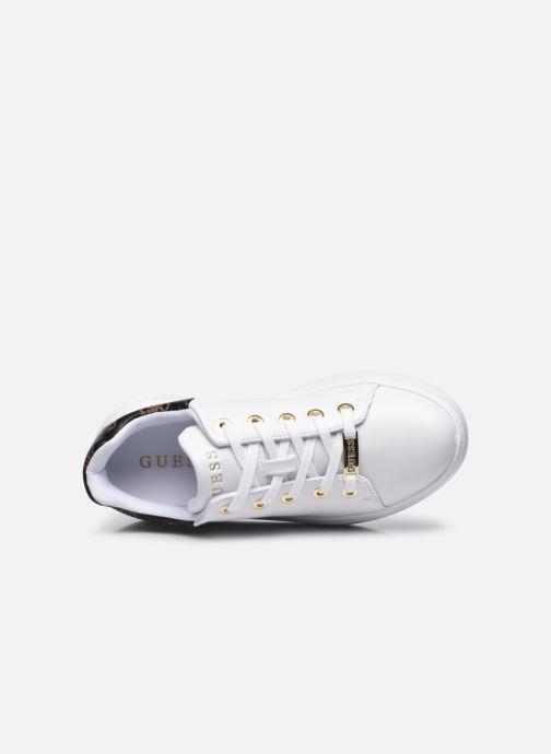 Sneaker Guess BRADLY2 weiß ansicht von links