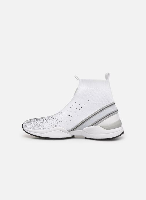 Sneaker Guess BAMMIE weiß ansicht von vorne