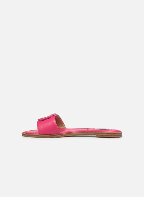 Clogs & Pantoletten Guess BOTALI rosa ansicht von vorne