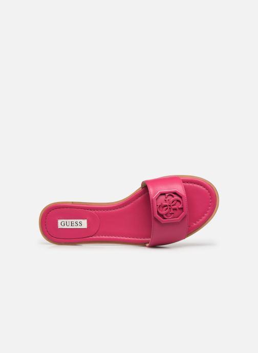 Clogs & Pantoletten Guess BOTALI rosa ansicht von links