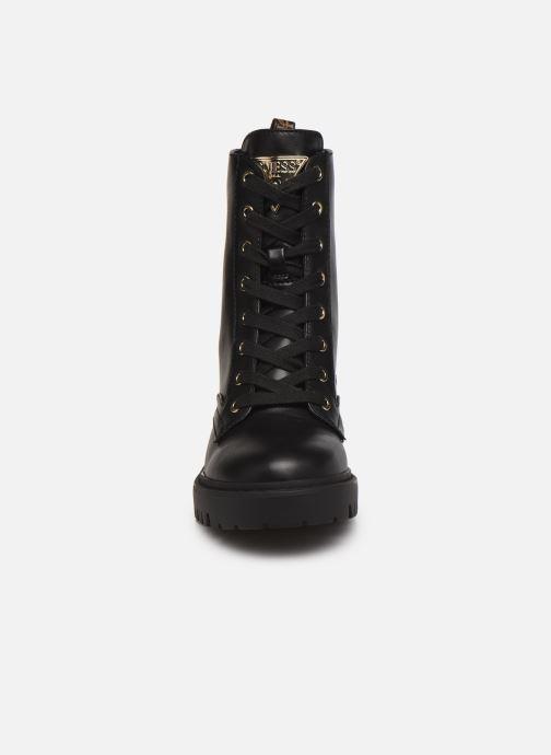 Stiefeletten & Boots Guess OLINIA schwarz schuhe getragen
