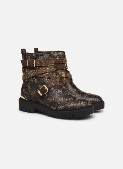 Boots en enkellaarsjes Guess ORINIA Bruin 3/4'