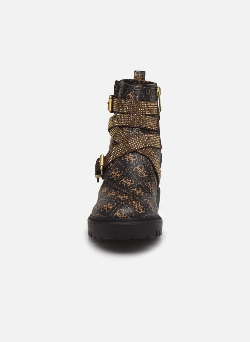 Bottines et boots Guess ORINIA Marron vue portées chaussures