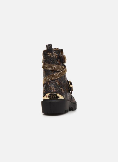 Boots en enkellaarsjes Guess ORINIA Bruin rechts