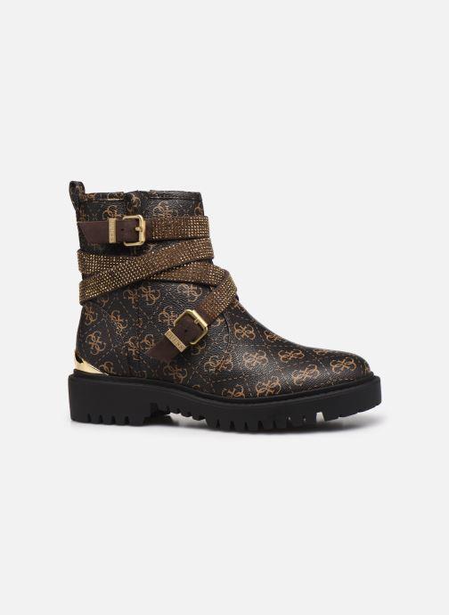 Boots en enkellaarsjes Guess ORINIA Bruin achterkant