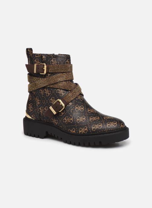 Bottines et boots Guess ORINIA Marron vue détail/paire