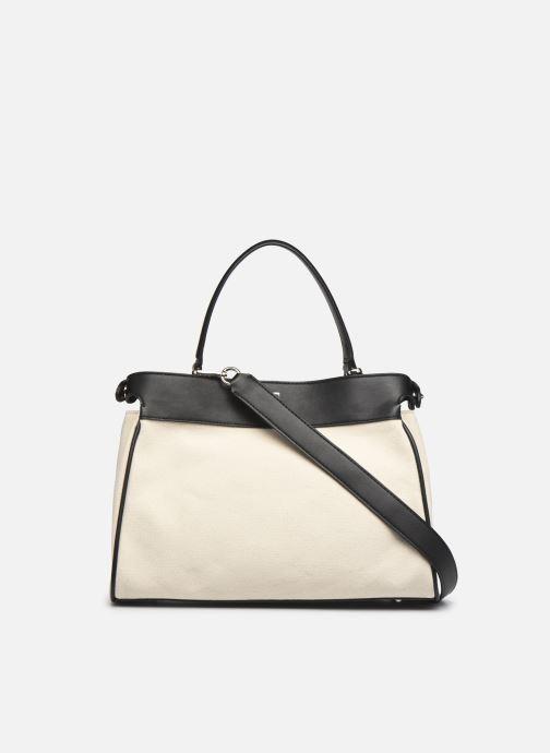 Handtaschen Guess UPTOWN CHIC LRG TRNLCK SATCHEL schwarz ansicht von vorne