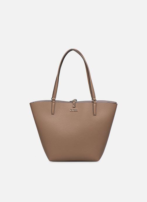 Handtaschen Guess ALBY TOGGLE TOTE braun detaillierte ansicht/modell
