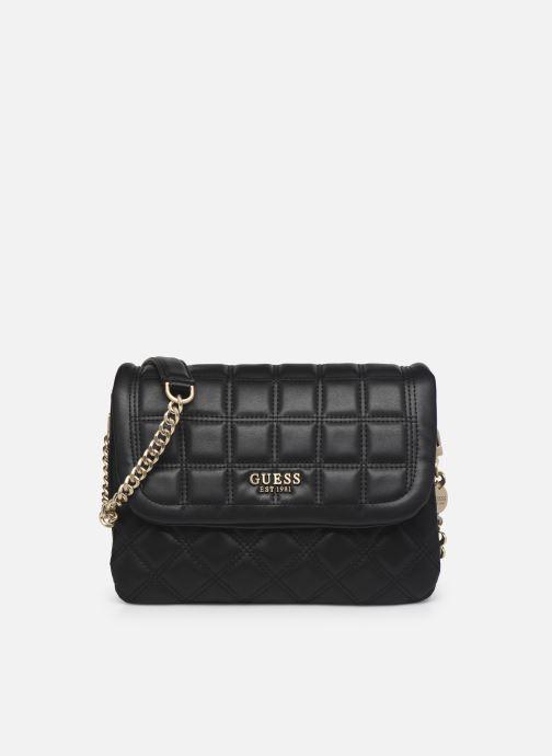 Handtaschen Guess KAMINA FLAP schwarz detaillierte ansicht/modell