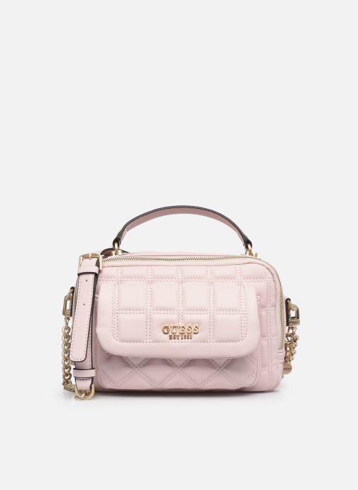 Handtaschen Guess KAMINA LUNCH BOX rosa detaillierte ansicht/modell