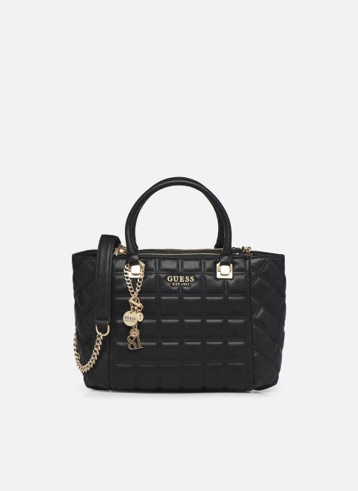 Handtaschen Guess KAMINA STATUS SATCHEL schwarz detaillierte ansicht/modell