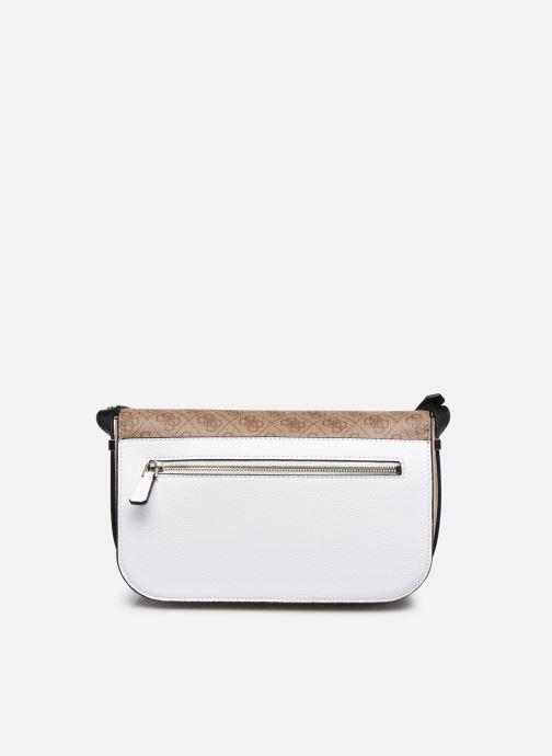 Handtaschen Guess HENSELY CNVRTBLE SHOULDER BAG weiß ansicht von vorne