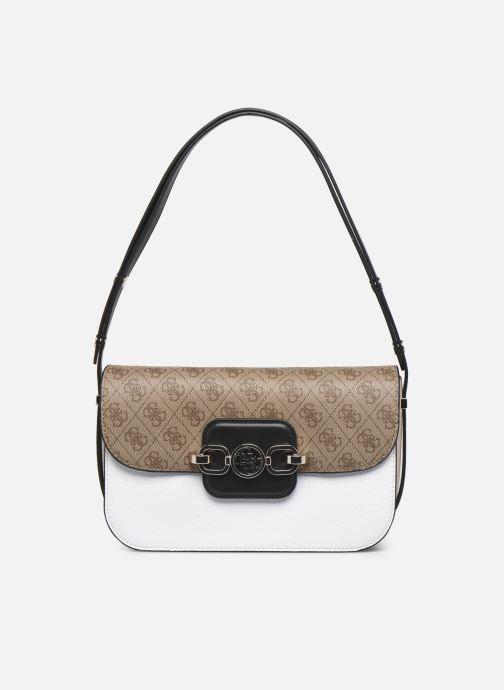 Handtaschen Guess HENSELY CNVRTBLE SHOULDER BAG weiß ansicht von links