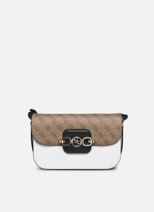 Handtaschen Guess HENSELY CNVRTBLE SHOULDER BAG weiß detaillierte ansicht/modell