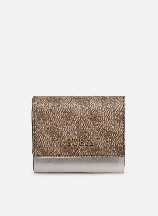 Portemonnaies & Clutches Guess MIKA SLG SMALL TRIFOLD braun detaillierte ansicht/modell