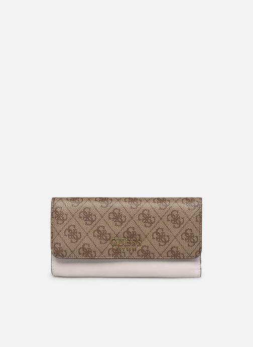 Portemonnaies & Clutches Guess MIKA SLG POCKET TRIFOLD braun detaillierte ansicht/modell