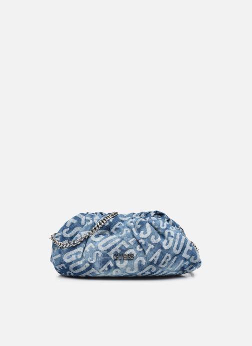 Handtaschen Guess CENTRAL CITY CLUTCH grau detaillierte ansicht/modell