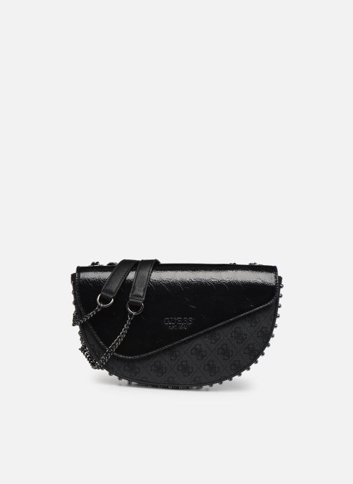 Handtaschen Guess LOGO VISION CNVRTBLE XBDY FLAP schwarz detaillierte ansicht/modell