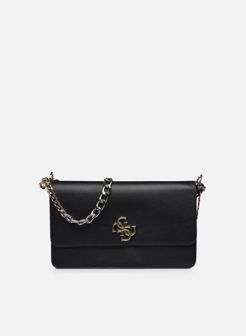 Handtaschen Guess LUNA LARGE  CONVERTIBLE  CROSSBODY schwarz detaillierte ansicht/modell